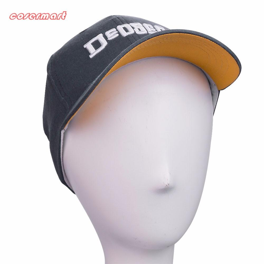 New Fashion Watch Dogs 2 Aiden Pearce Hats Light Blue Baseball Hats Cosplay Peaked Cap Halloween Christmas Gift - bfjcosplayer