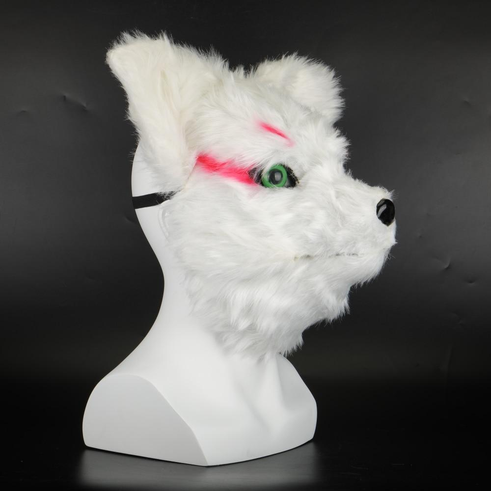 Animal Masks Animal Themed Costumes Horrible Rabbit Mask Felt Plastic Cosplay Prop Halloween Accessories Men Women Face Mask - bfjcosplayer