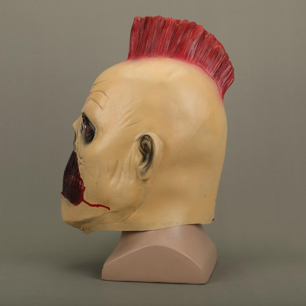 Halloween Masks Latex Party Joker Mask Chicken Crown Hair Fancy Dress Cosplay Costume Mask Masquerade - bfjcosplayer