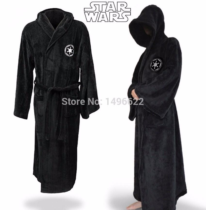 Star Wars Bathrobe Galactic Empire Sith  Jedi Knight Bath Robe Bathing Suit Cosplay Costumes For Men - bfjcosplayer