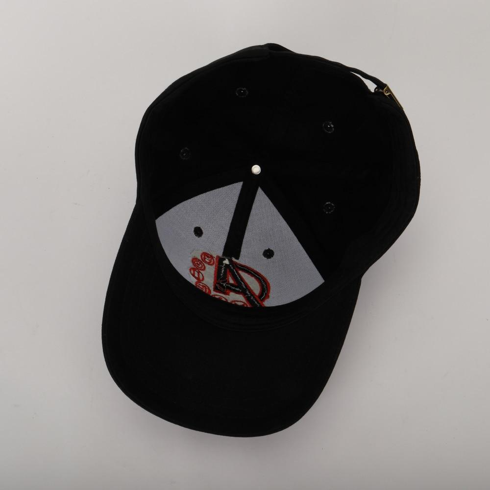 2019 The Avengers Endgame Quantum Realm Hats Cosplay Joe Russo Advanced Tech Hats Embroidery Unisex Advanced Tech Baseball Cap - bfjcosplayer