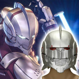Anime Ultraman Shinjiro Hayata Helmet Cosplay Helmets Mask Adult Unisex Collection Gift Halloween Party Prop - bfjcosplayer