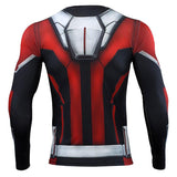 Ant Man 3D Printed T shirts Men Avengers 4 Endgame Compression Shirt Cosplay Costume Tigths Long Sleeve Tops For Male - bfjcosplayer