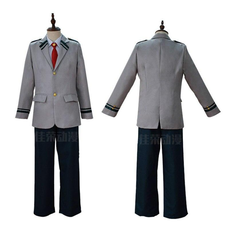 Anime Boku no Hero Academia Midoriya Izuku Bakugou Katsuki OCHACO URARAKA Cosplay Costume My Hero Academia School Uniform - bfjcosplayer