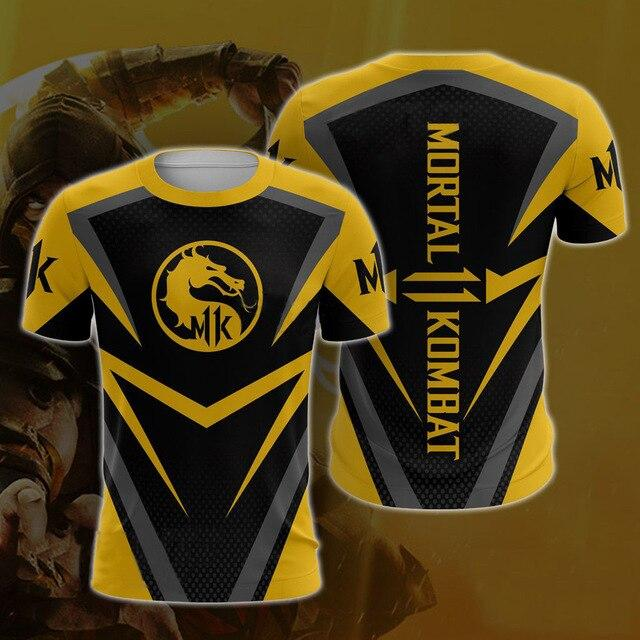 Mortal Kombat X Sub-Zero Scorpion T-shirt Cosplay Costume Men Women Zip-up Hoodies Sweatshirts Mortal Kombat Hoodies Jackets - bfjcosplayer