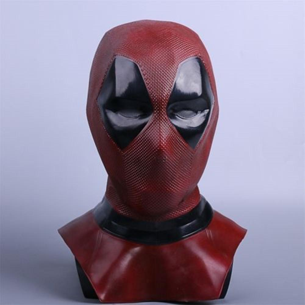 Deadpool 1-2 Mask Cosplay Superhero Deadpool Full Face Mask Breathable Costume Halloween Party Props - bfjcosplayer
