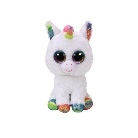 Peluche Licorne Yeux Brillants