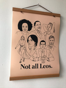 Not All Leos Poster