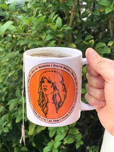 Stevie Nicks Gemini Mug
