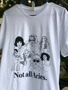 Not All Aries Icons Shirt