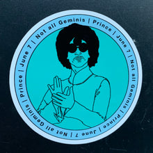 Load image into Gallery viewer, Prince Gemini Sticker