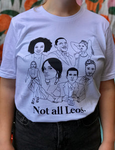 Not All Leos Icons Shirt