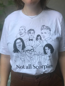 Not All Scorpios Icons Shirt