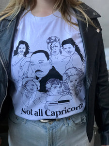 Not All Capricorns Icons Shirt