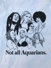 Load image into Gallery viewer, Not All Aquarians Icons Shirt