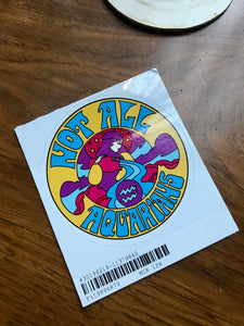 Not All Aquarians Sticker