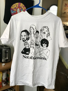 Not All Geminis Icons Shirt
