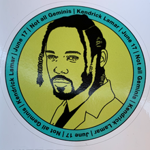 Load image into Gallery viewer, Kendrick Lamar Gemini Sticker