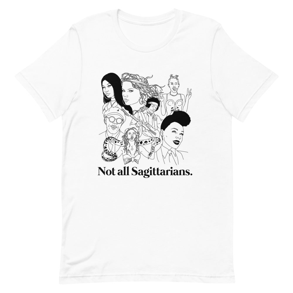 Not All Sagittarians Icons Shirt