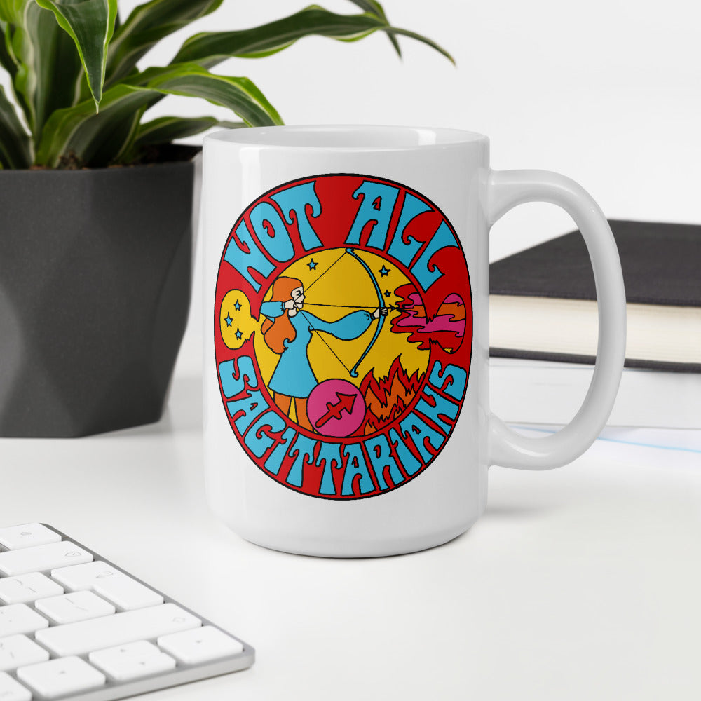 Not All Sagittarians Mug