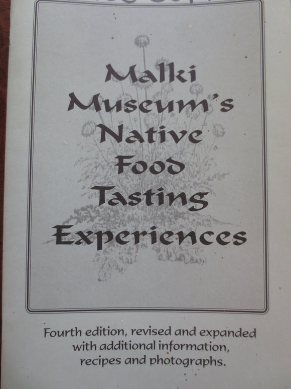 Malki Museum's Native Food Tasting Experiences