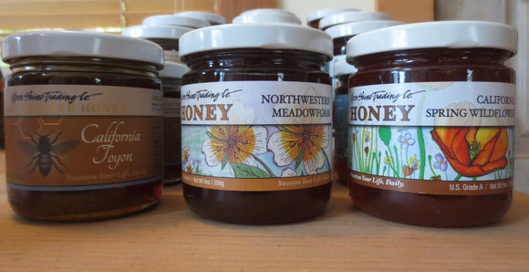 Unique West Coast Honey