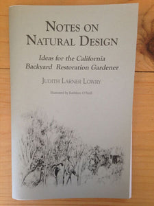 Notes on Natural Design
