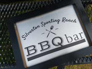 Silverton Sporting Ranch BBQ bar ready to roll!