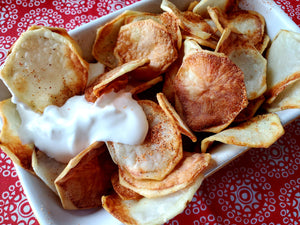 Air Fryer Homemade Potato Chips