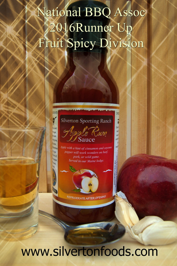 Apple Rum Sauce Gets National Recognition!