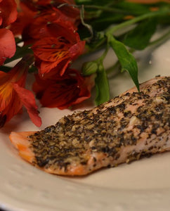 Salmon with Special Blend Marinade