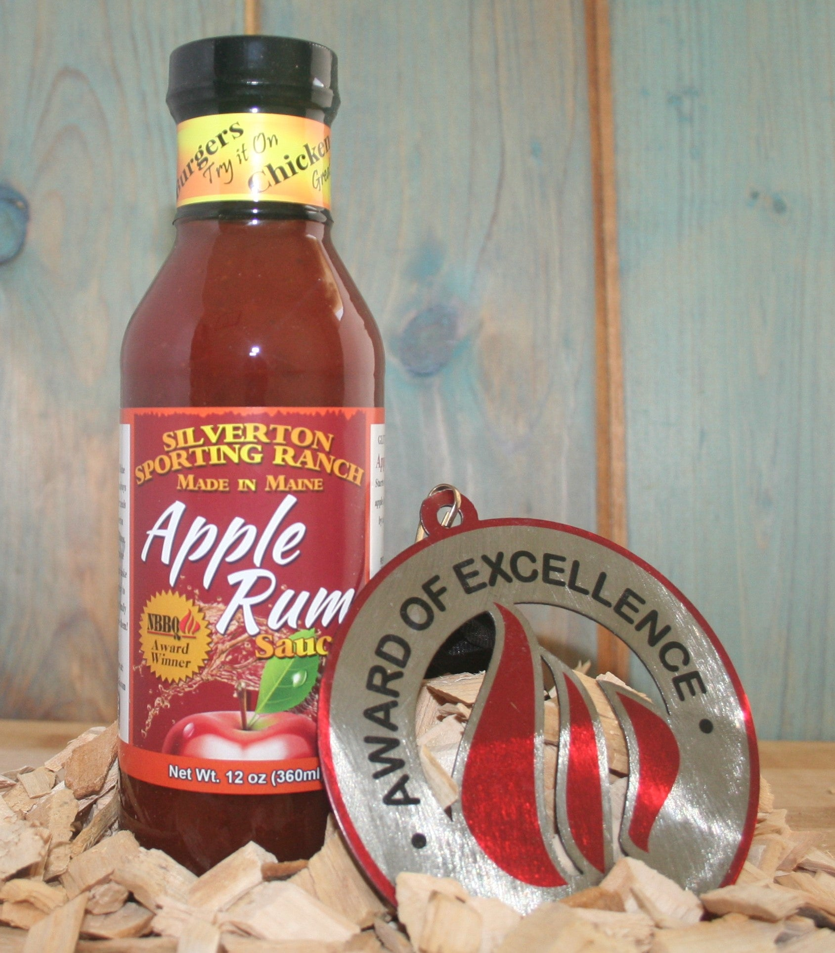 Apple Rum BBQ Sauce Award Winning Gluten Free Sauce