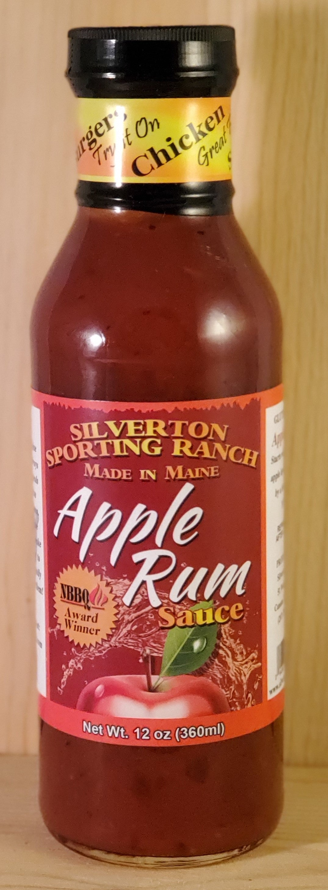 Apple Rum BBQ Sauce - Sweet and Spicy Sauce
