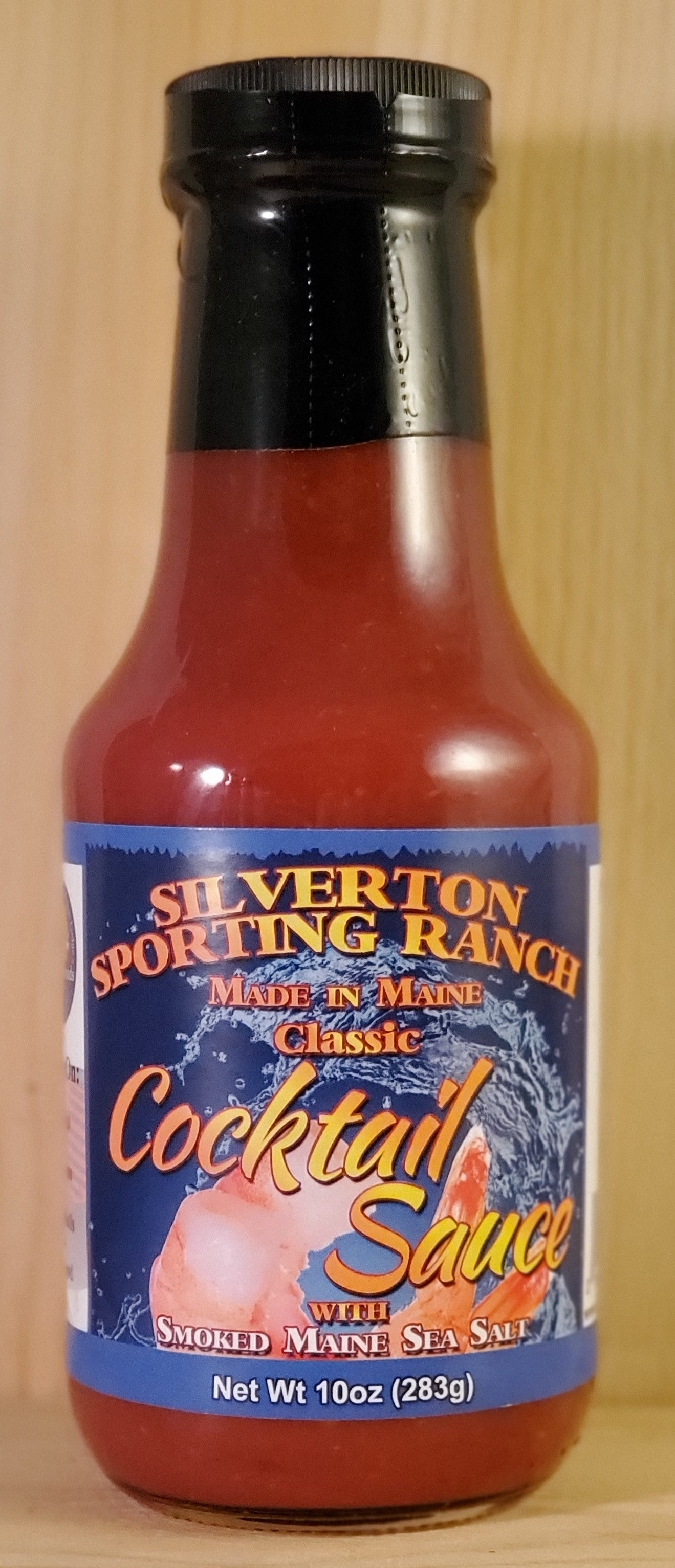 Classic Cocktail Sauce with Smoked Maine Sea Salt - Silverton Foods Best BBQ Sauces