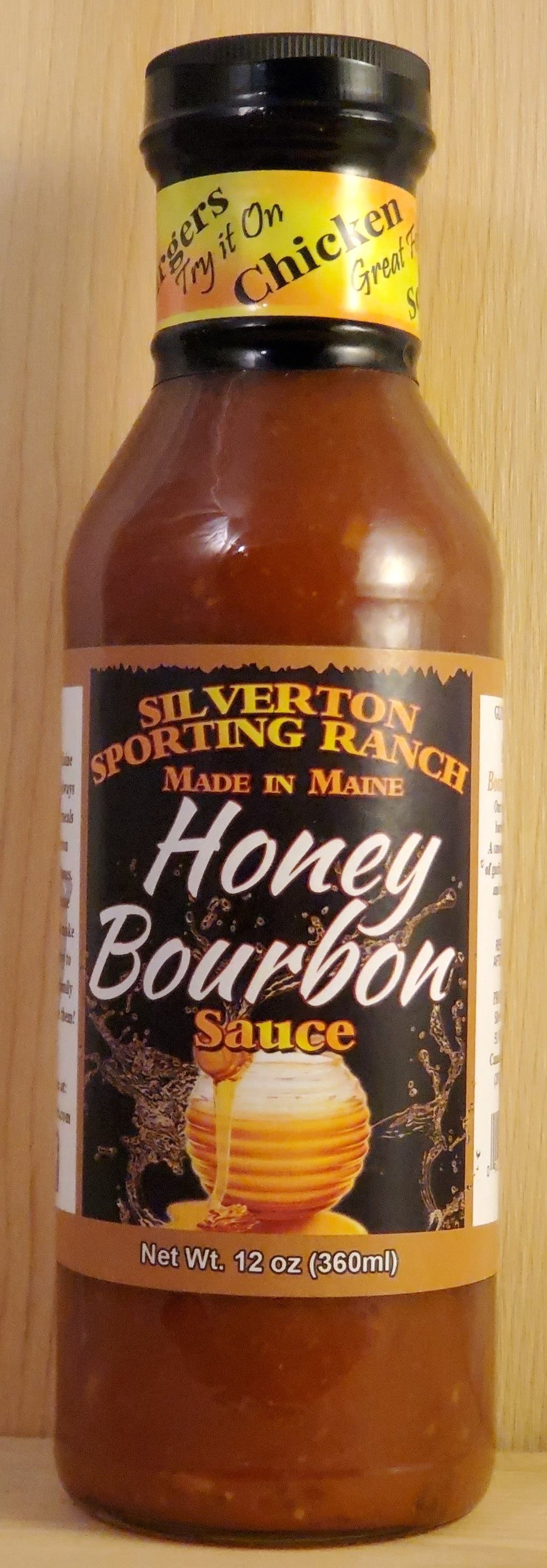 Honey Bourbon Barbecue Sauce - Silverton Foods Best BBQ Sauces