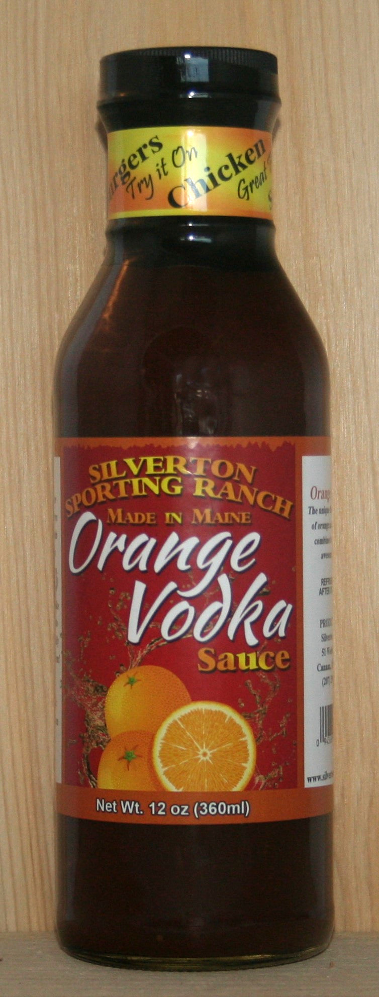 Orange Vodka Sauce - Silverton Foods Best BBQ Sauces