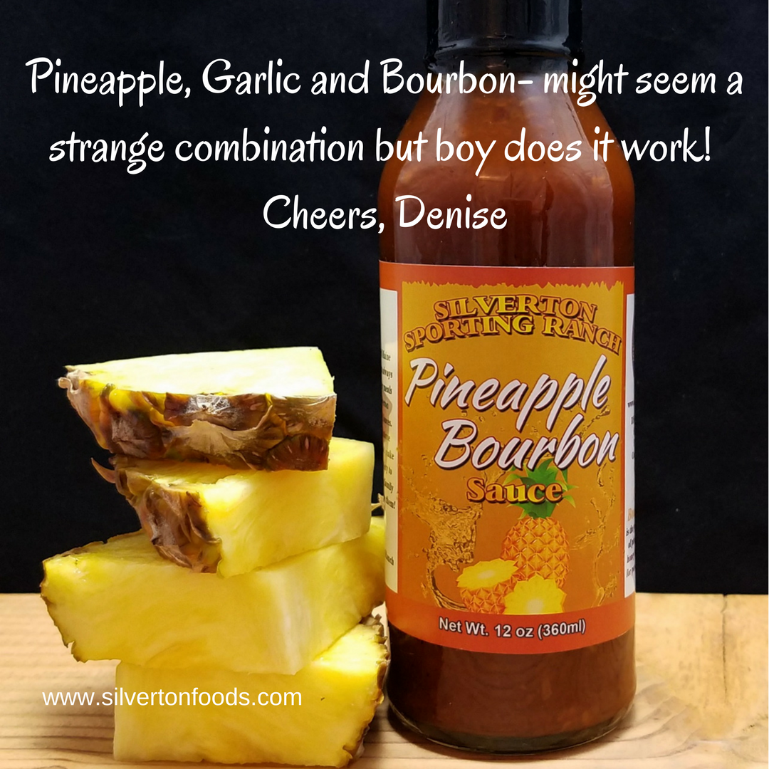 Pineapple Bourbon Sauce - Silverton Foods Sauces and Marinades