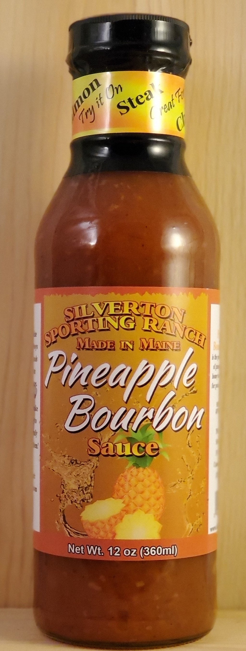 Pineapple Bourbon Sauce - Silverton Foods Best BBQ Sauces