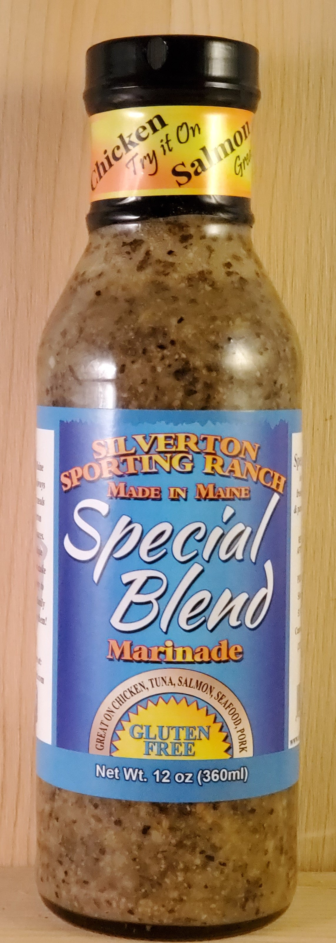 Special Blend Marinade - Silverton Foods Best BBQ Sauces