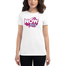 Load image into Gallery viewer, WHITE Ladies Short Sleeve