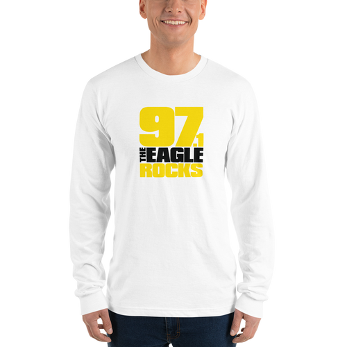 WHITE 97.1 The Eagle Unisex Long Sleeve