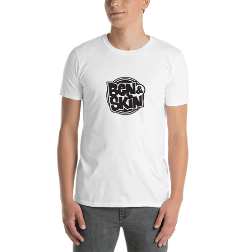 WHITE Ben & Skin Unisex Short Sleeve