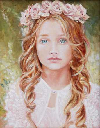"""Emma"" Oil on Linen"