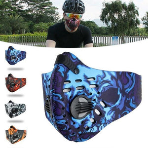 Men/Women Activated Carbon Dust-proof Cycling Face Mask Anti-Pollution Bicycle Bike Outdoor Training mask face shield