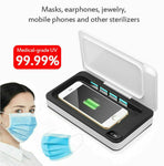 Portable Uv Sterilizer Box Mobile Phone Sanitizer Case For Phone Mice Toothbrush Mask Sterilization Box 1 Set