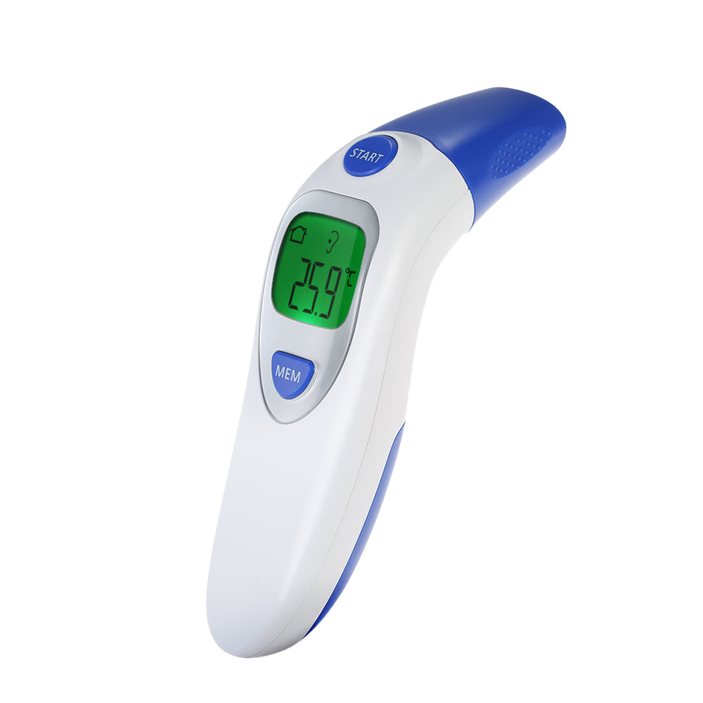 Baby Termometro Digital IR LCD Infrared Dual Mode Adult Forehead Body Ear Thermometer Measurement With Alarm Function Accurately
