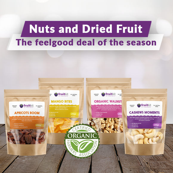 Organic Nuts & Dried Fruit