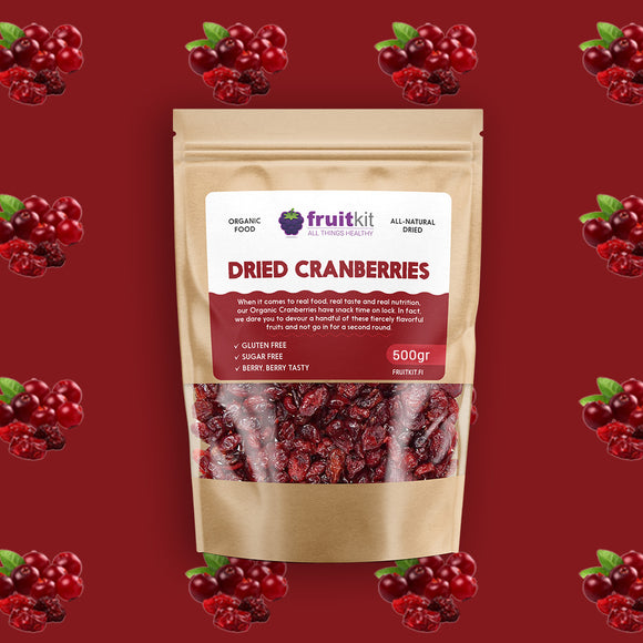 Dried Cranberries (organic)