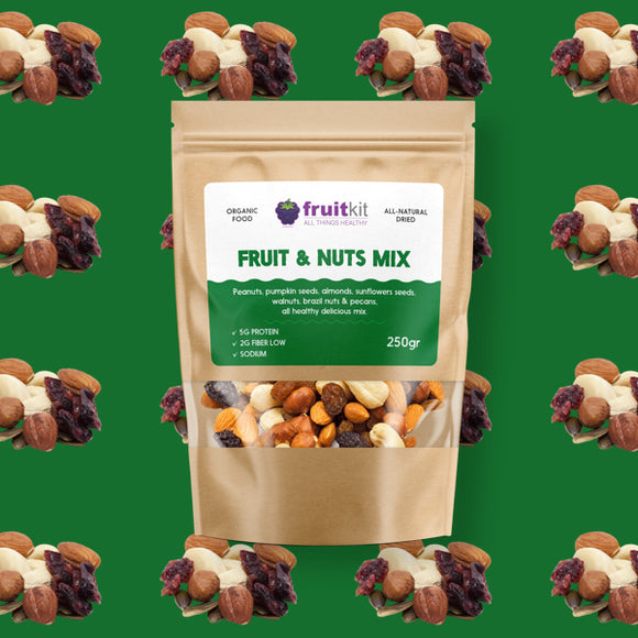 Fruit & Nuts mix (organic)