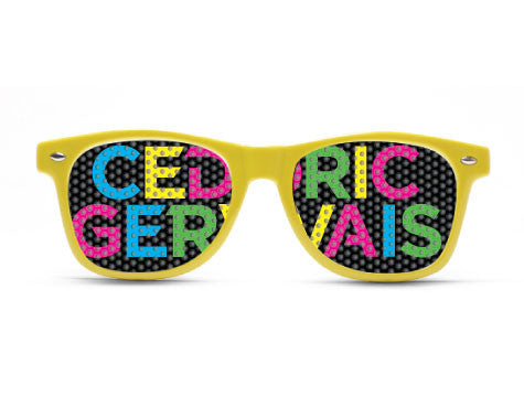 Cedric Gervais Multicolor Sunglasses